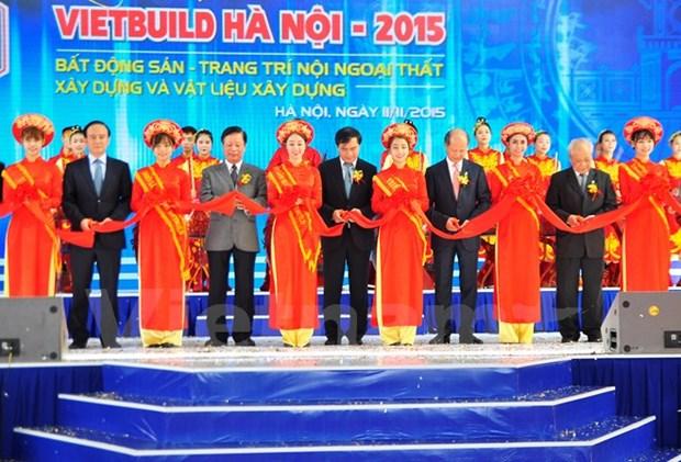 VietBuild 2015, l'expo internationale de la construction a Hanoi hinh anh 1