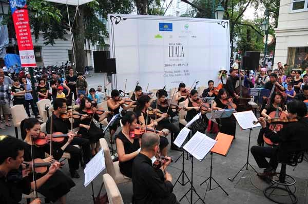 Les concerts en plein air Luala de retour a Hanoi hinh anh 1