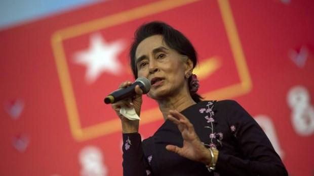 Aung San Suu Kyi invite les dirigeants birmans a discuter hinh anh 1