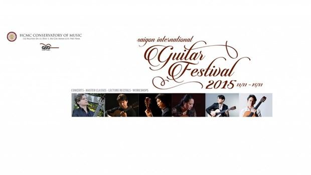 Festival international de guitare de Ho Chi Minh-Ville hinh anh 1