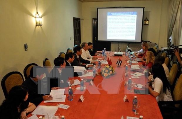 Vietnam et Cuba echangent des experiences dans la protection des interets des citoyens hinh anh 1