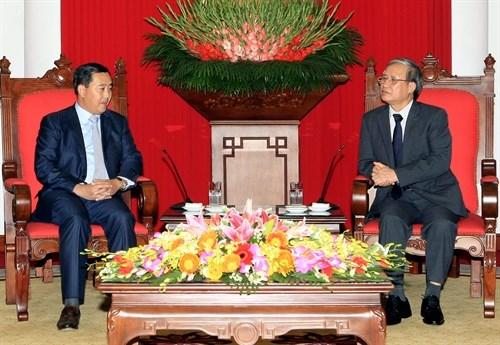 Vietnam et Cambodge renforcent leurs relations hinh anh 1