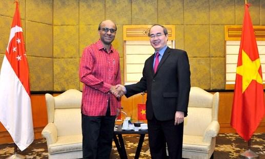 Vietnam-Singapour : promotion du partenariat strategique hinh anh 1