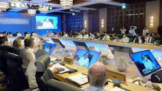 Conference-bilan des hauts officiels de l'APEC 2015 hinh anh 1