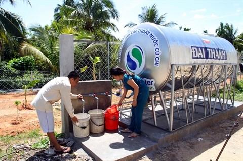 Alimentation en eau courante, une priorite pour Ho Chi Minh-Ville hinh anh 2