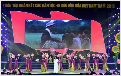 """Ouverture de la semaine """"Grande solidarite des ethnies – Patrimoine culturel du Vietnam"""