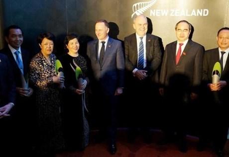 Remise des prix Nouvelle-Zelande - ASEAN a quatre Vietnamiens hinh anh 1