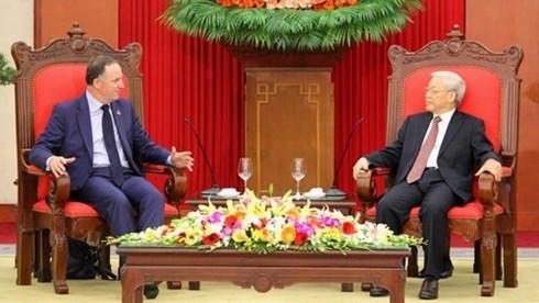 Vietnam - Nouvelle-Zelande: dynamiser la cooperation bilaterale hinh anh 1