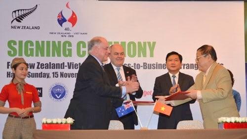 Vietnam – Nouvelle-Zelande: renforcement de cooperations dans les secteurs aerien et laitier hinh anh 1