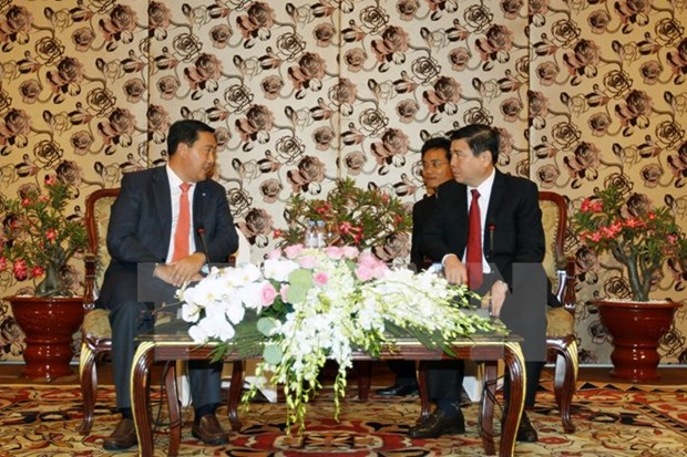 Ho Chi Minh-Ville souhaite intensifier sa cooperation avec les localites cambodgiennes hinh anh 1