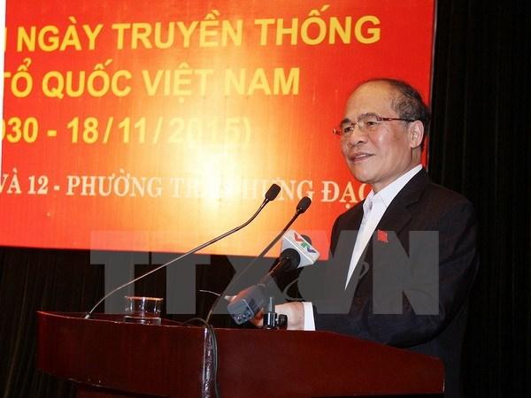 Le president de l'AN a la Fete de la grande union nationale a Hanoi hinh anh 1