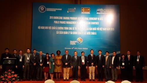 Partage d'experiences dans la gestion des finances publiques dans les pays asiatiques hinh anh 1