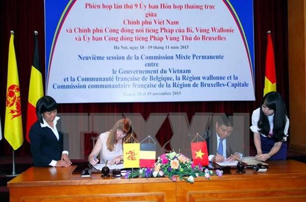 Session de la Commission mixte permanente Vietnam-Wallonie-Bruxelles hinh anh 1