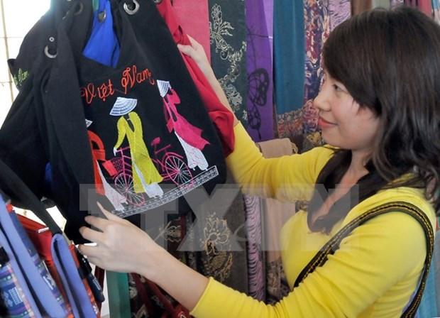 Le Vietnam a une foire internationale de l'art textile au Venezuela hinh anh 1