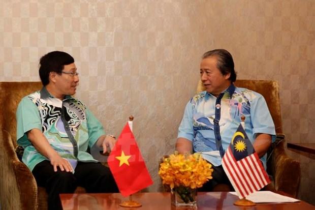 Vietnam et Malaisie promeuvent les liens de partenariat strategique hinh anh 1