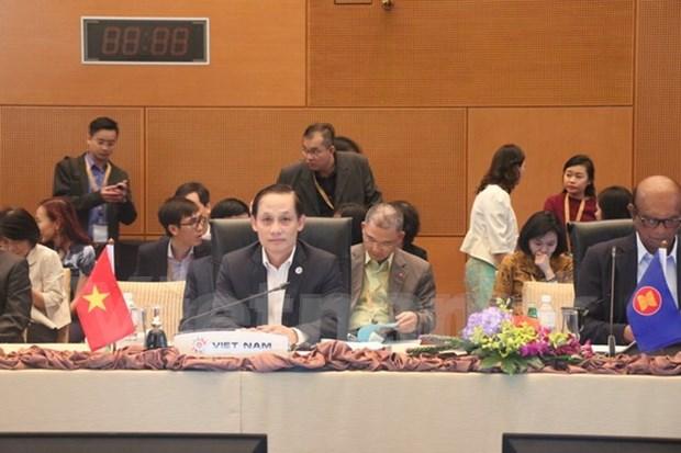 Reunion preparatoire du 27eme sommet de l'ASEAN et des conferences connexes hinh anh 1