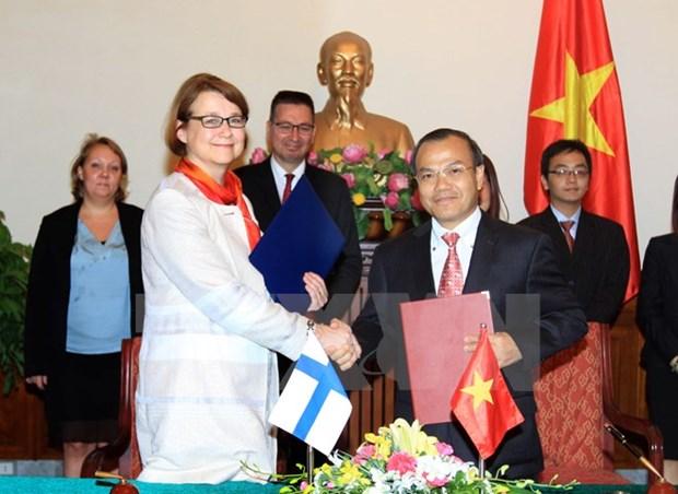 Vietnam et Finlande s'orientent vers une cooperation plus dynamique hinh anh 1
