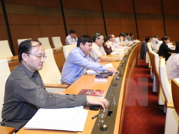 L'Assemblee nationale adopte plusieurs projets de loi importants hinh anh 1