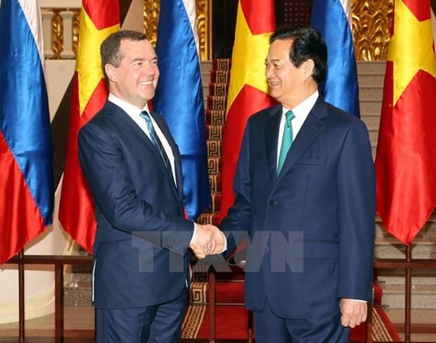 Renforcement du partenariat strategique integral Vietnam-Russie hinh anh 1