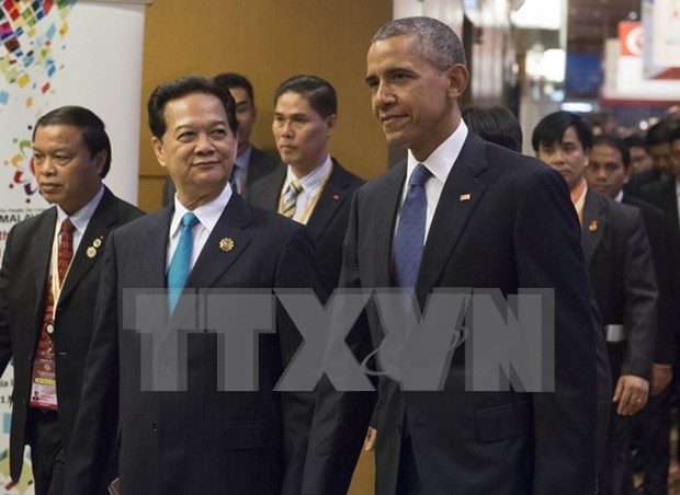 Le PM Vietnamien rencontre le president americain Barack Obama hinh anh 1