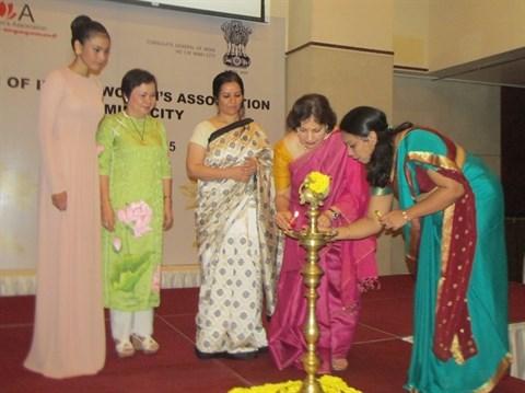 Inauguration de l'Association des femmes indiennes a Ho Chi Minh-Ville hinh anh 2