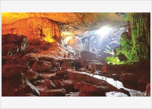 Baie de Ha Long, des iles karstiques aux grottes hinh anh 1