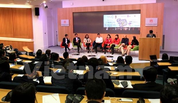 «Tour de Job» pour les etudiants vietnamiens au Royaume-Uni hinh anh 1