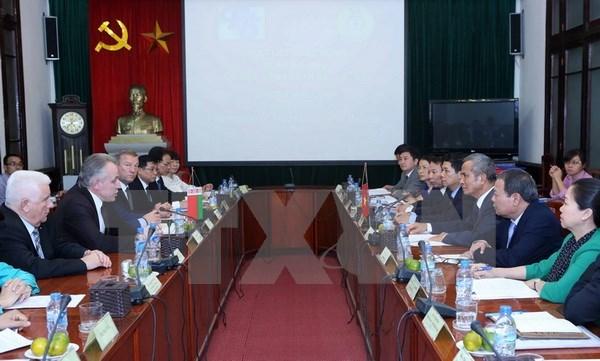Syndicalisme: Vietnam et Bielorussie renforcent leur cooperation hinh anh 1