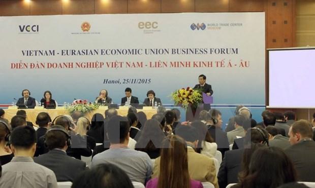 Forum d'entreprises Vietnam-Union economique eurasiatique hinh anh 1