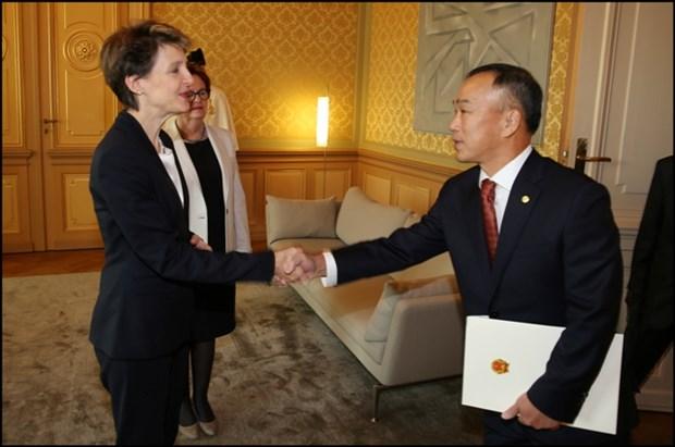 La Suisse promeut ses relations avec le Vietnam hinh anh 1