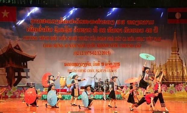 Les relations Vietnam-Laos continuent de se developper hinh anh 1