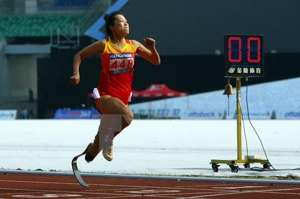 ASEAN Para Games : ceremonie de depart de la selection nationale hinh anh 1