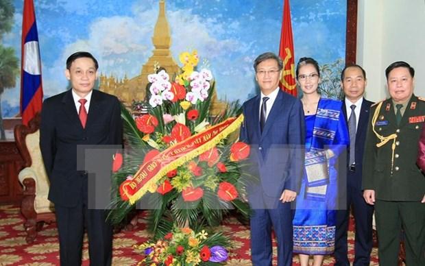 Felicitations au peuple laotien a l'occasion de la Fete nationale du Laos hinh anh 1