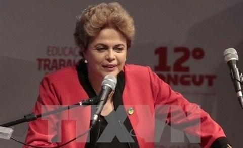 La Presidente bresilienne annule sa tournee en Asie hinh anh 1