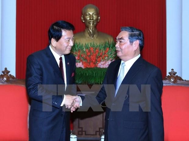 Vietnam et Japon main dans la main hinh anh 1