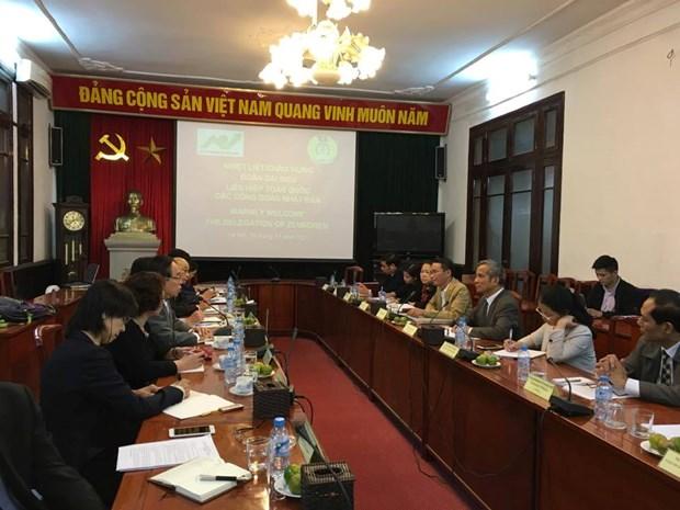Vietnam et Japon resserrent leur cooperation dans les activites syndicales hinh anh 1