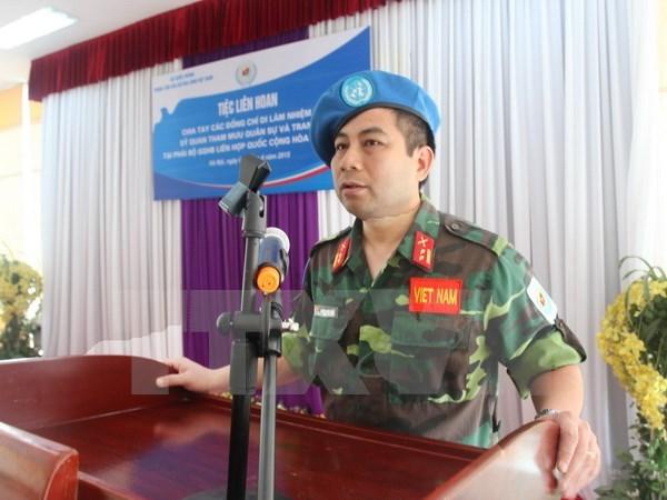 Vietnam-Chine renforcent leur cooperation dans les operations de maintien de la paix de l'ONU hinh anh 1