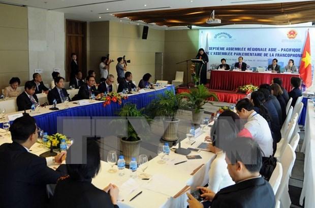 Ouverture de la 7e Assemblee regionale Asie-Pacifique de l'APF hinh anh 1
