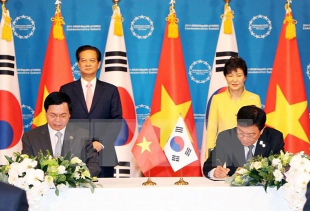 La presidente sud-coreenne salue la ratification de l'ALE avec le Vietnam hinh anh 1