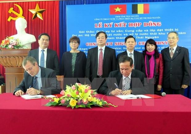 La Belgique finance un projet de traitement des eaux usees a Thai Nguyen hinh anh 1