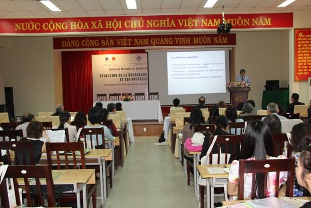 Thua Thien-Hue : seminaire regional de recherche francophone 2015 hinh anh 1