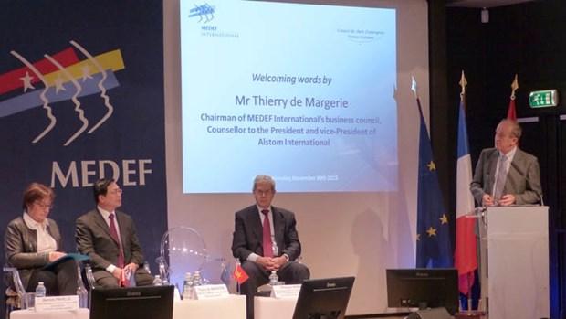 Intensifier les relations economiques Vietnam-France hinh anh 1