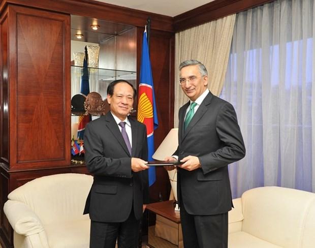 Le Pakistan souhaite renforcer la cooperation avec l'ASEAN hinh anh 1