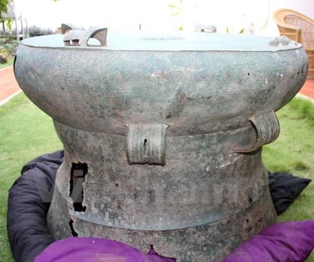 Decouverte d'un tambour de Dong Son au Timor-Leste hinh anh 1