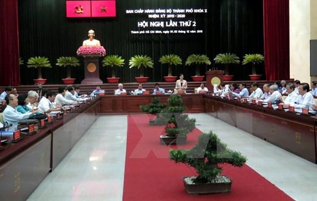 Ho Chi Minh -Ville vise une croissance economique de 8% l'annee prochaine hinh anh 1