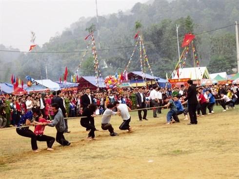 Les rituels et jeux de tir a la corde inscrits au patrimoine culturel mondial hinh anh 1