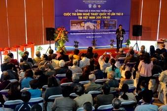 Remise des prix du 8e concours international de photos au Vietnam hinh anh 1