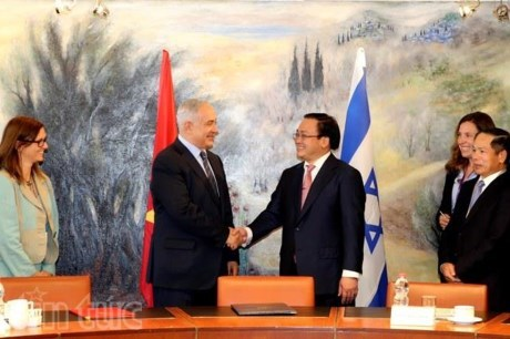 Le Vietnam et Israel declarent demarrer leurs negociations sur un FTA hinh anh 1