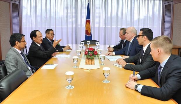 L'Organisation de cooperation de Shanghai renforce ses relations avec l'ASEAN hinh anh 1