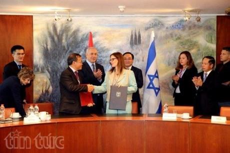 Le Vietnam et Israel declarent demarrer leurs negociations sur un FTA hinh anh 2